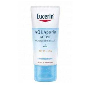 کرم آبرسان آکواپورین اوسرین مناسب پوست نرمال Eucerin spf15