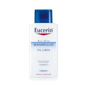 ژل شستشو حاوی ۵% اوره مناسب پوست خشک Eucerin WASLOTION