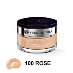 Yves Rocher Confort Cream Foundation Beige N100 کرمپودر کاسهای ایوروشه بژ روشن ۱۰۰