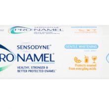 Sensodyne Pro-Namel Gentle Whitening Toothpaste 75ml خمیر دندان سنسوداین سفید کننده ملایم ۷۵ میل