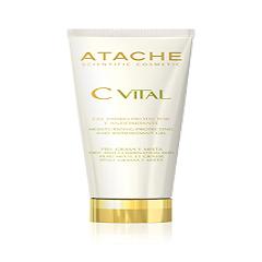 ژل آنتی اکسیدان، مرطوب کننده و ضد پیری اتچه مخصوص پوست های چرب و مختلط Atache Moisturizing, Protecting and Antioxidant Gel / Oily and Mixed Skins CVITAL
