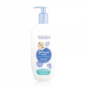 ژل شستشوی مو و بدن کودک اولودرم evoluderm Baby cleansing gel