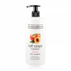 لوسیون بدن هلو اولودرم evoluderm peach body lotion