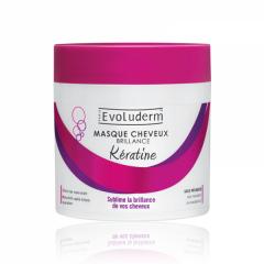 ماسک مو درخشان کننده کراتین اولودرم Evoluderm Shine Hair Mask Keratin