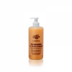 شامپو 2x1 موهای خشک آرگان کارلینا Carlina Shampoo With Argan Oil 2*1
