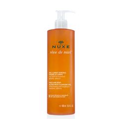 ژل پاک کننده صورت و آرایش رِودُمییِل نوکس Nuxe RÊVE DE MIEL Cleansing and Make-Up Removing 400ئم