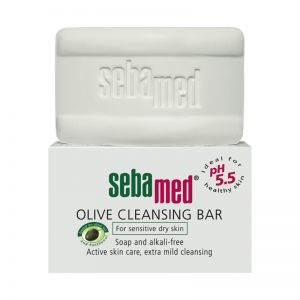 Sebamed Olive Cleansing Bar پن زیتون(پوست های خشک و حساس) سبامد