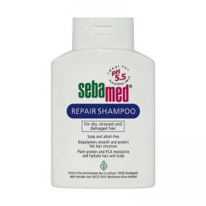 Sebamed Repair shampoo شامپو تقویتی (موی آسیب دیده) سبامد