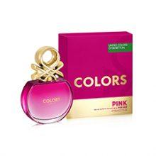 عطر زنانه بنتون مدل Colors de Benetton Pink حجم 80 میلی لیتر
