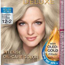 کیت رنگ مو پلت سری Deluxe مدل بلوند روشن تیتانیومی شماره 2-12