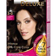 کیت رنگ مو پلت سری Deluxe مدل قهوه ای طبیعی تیره شماره 0-3