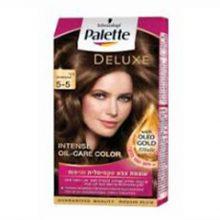 کیت رنگ مو پلت سری Deluxe مدل قهوه ای طبیعی شماره 5-5