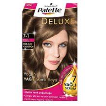 کیت رنگ مو پلت سری Deluxe مدل بلوند دودی شماره 1-7