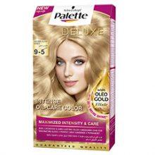 کیت رنگ مو پلت سری Deluxe مدل بلوند روشن عسلی شماره 5-9