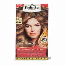 کیت رنگ مو پلت سری Deluxe مدل بلوند روشن شماره 0-8