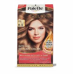 کیت رنگ مو پلت سری Deluxe مدل بلوند روشن شماره 0-8 |