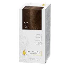 کیت رنگ مو زی فام 5.3 قهوه ای ترافلی
