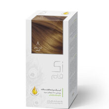 کیت رنگ مو زی فام 8-بلوند روشن طبیعی